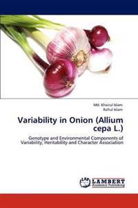 Variability in Onion (Allium Cepa L.)