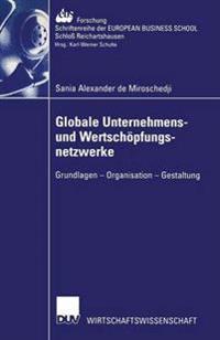 Globale Unternehmens- Und Wertsch pfungsnetzwerke