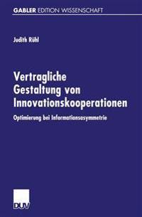 Vertragliche Gestaltung Von Innovationskooperationen