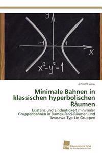 Minimale Bahnen in Klassischen Hyperbolischen Raumen