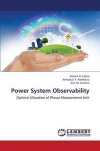 Power System Observability