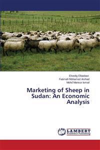 Marketing of Sheep in Sudan
