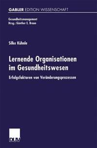 Lernende Organisationen Im Gesundheitswesen
