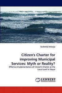 Citizen's Charter for Improving Municipal Services