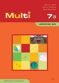 Multi 7a - Bjørnar Alseth, Gunnar Nordberg, Mona Røsseland pdf epub
