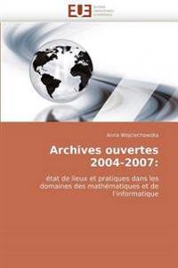 Archives Ouvertes 2004-2007