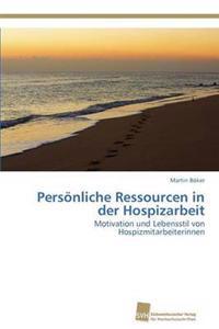 Personliche Ressourcen in Der Hospizarbeit