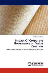 Impact of Corporate Governance on Value Creation