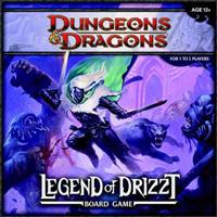 Legend of Drizzt Board Game: A Dungeons & Dragons Board Game