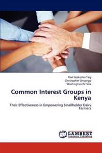 Common Interest Groups in Kenya
