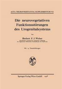 Die Neurovegetativen Funktionsstörungen Des Urogenitalsystems
