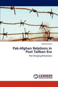 Pak-Afghan Relations in Post Taliban Era