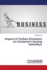 Impact of Carbon Emissions on Customer's Buying Behaviour