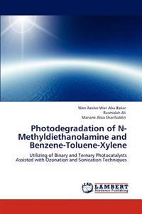 Photodegradation of N-Methyldiethanolamine and Benzene-Toluene-Xylene