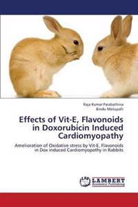 Effects of Vit-E, Flavonoids in Doxorubicin Induced Cardiomyopathy