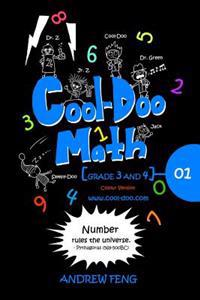 Cool-Doo Math: Grade 3&4 - Vol.1 Colour Version