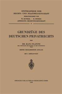 Grundzuge Des Deutschen Privatrechts