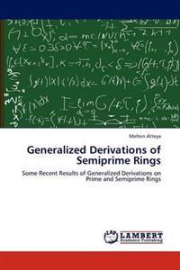 Generalized Derivations of Semiprime Rings