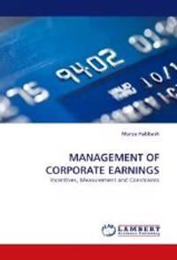 Management of Corporate Earnings