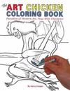 The Art Chicken Adult Coloring Book