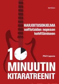 10 minuutin kitaratreenit (+cd)