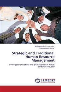 Strategic and Traditional Human Resource Management