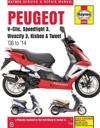 Peugeot V-Clic, Speedfight 3, Vivacity 3, Kisbee & Tweet (08 To 14)