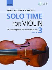 Solo Time for Violin Book 3 + CD