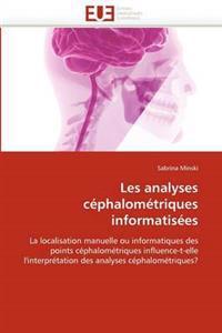 Les Analyses C�phalom�triques Informatis�es