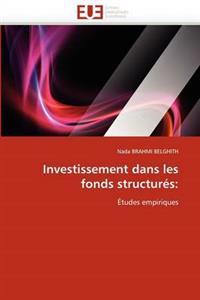 Investissement Dans Les Fonds Structur�s