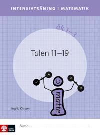 Intensivträning ma åk 1-3 Talen 11-19 Elevhäfte