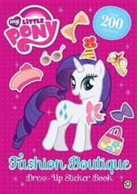 Fashion Boutique Dress-Up Sticker Book