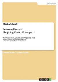 Lebenszyklus Von Shopping-Center-Konzepten