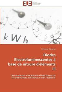 Diodes Electroluminescentes a Base de Nitrure D'Elements III
