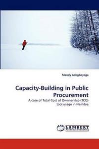 Capacity-Building in Public Procurement