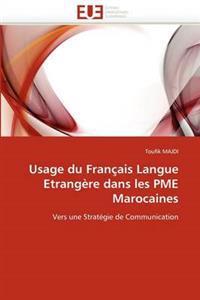 Usage Du Fran�ais Langue Etrang�re Dans Les Pme Marocaines
