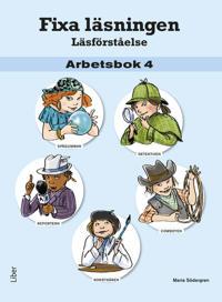 Fixa läsningen Läsförståelse Arbetsbok 4, 5-pack