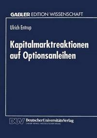 Kapitalmarktreaktionen Auf Optionsanleihen