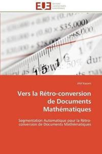 Vers La R�tro-Conversion de Documents Math�matiques