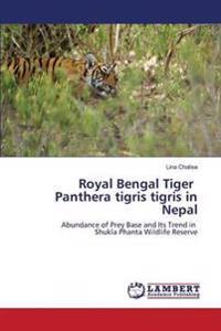 Royal Bengal Tiger Panthera Tigris Tigris in Nepal