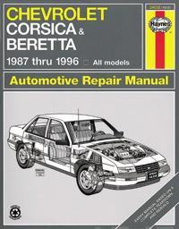 Chevrolet Corsica & Beretta Automotive Repair Manual