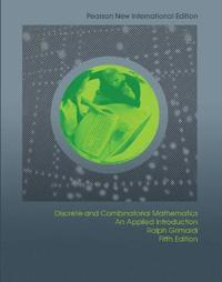 Discrete and Combinatorial Mathematics: Pearson New International Edition