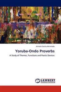 Yoruba-Ondo Proverbs