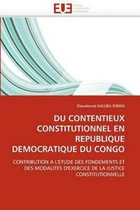 Du Contentieux Constitutionnel En Republique Democratique Du Congo