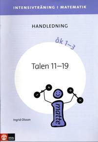 Intensivträning ma åk 1-3 Talen 11-19 Lhl
