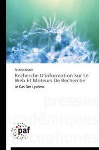 Recherche D'Information Sur Le Web Et Moteurs de Recherche
