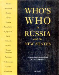 Who's Who in Russia and the New States