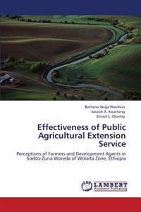 Effectiveness of Public Agricultural Extension Service