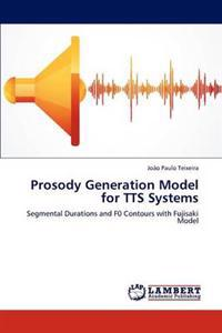 Prosody Generation Model for Tts Systems