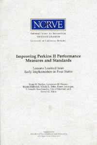 Improving Perkins II Performance Measures and Standards